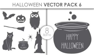 Vector Halloween Pack 6 Vector packs vector