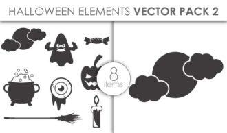 Vector Halloween Pack 7 Vector packs vector