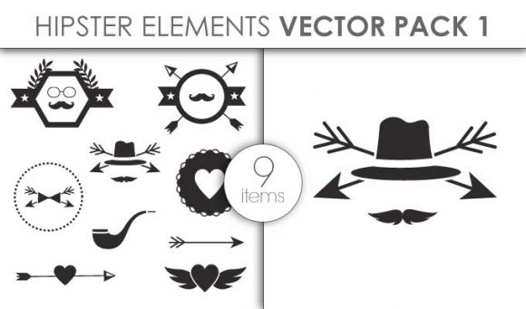 Vector Hipster Pack 1 Vector packs vector