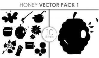 Vector Honey Pack 1 Vector packs vector
