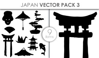 Vector Japan Pack 3 Vector packs vector