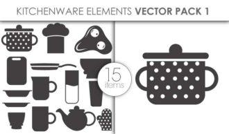 Vector Kitchenware Pack 1 Vector packs vector