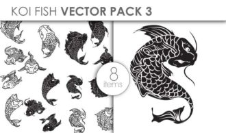 Vector Koi Pack 3 Vector packs vector