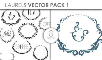 Vector Laurels Pack 1 Vector packs vector