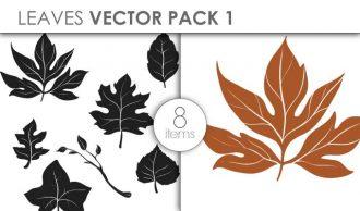 Vector Leaves Pack 1 Vector packs vector