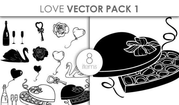 Vector Love Set Pack 1 designious vector love set pack 1 small preview