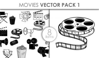 Vector Movie Pack 1 Vector packs vector