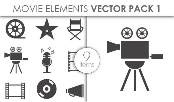 Vector Movie Pack 3 Vector packs vector