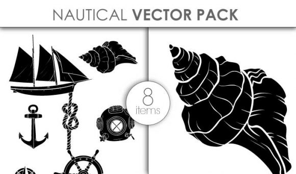 Vector Nautical Pack 2 Vector packs vector
