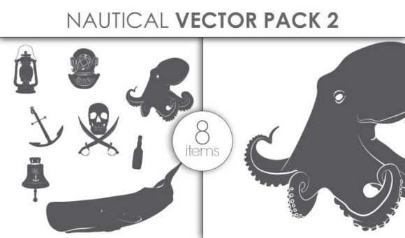 Vector Nautical Pack 5 Vector packs vector