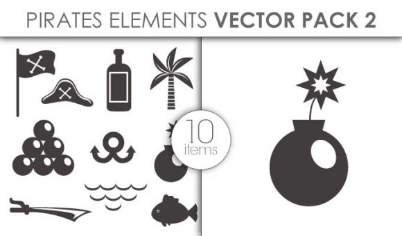 Vector Pirates Pack 2 Vector packs vector