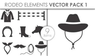 Vector Rodeo Pack 1 Vector packs vector