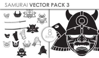 Vector Samurai Pack 3 Vector packs vector