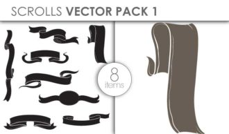Vector Scrolls Pack 1 Vector packs vector
