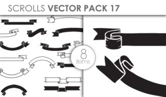 Vector Scrolls Pack 17 Vector packs vector