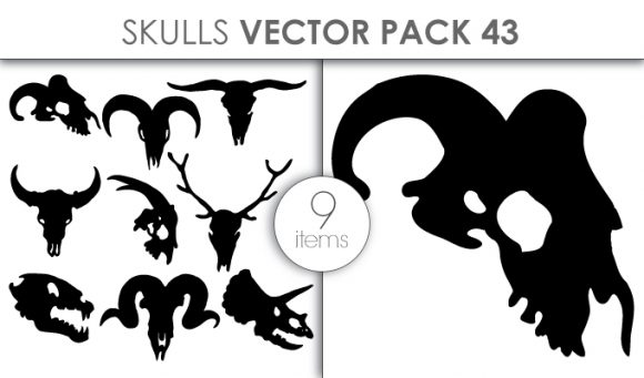 Vector Skulls Pack 43 designious vector skulls pack 43 small preview