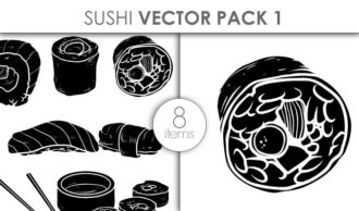 Vector Sushi Pack 1 Vector packs vector