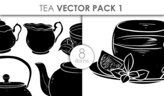 Vector Tea Pack 1 Vector packs vector
