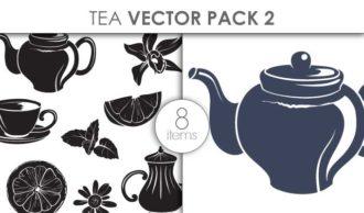 Vector Tea Pack 2 Vector packs vector