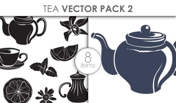Vector Tea Pack 2 Vector packs vector