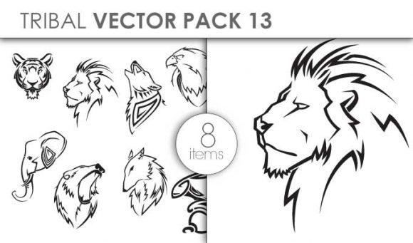 Vector Tribal Pack 13 Vector packs vector