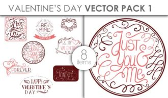 Vector Valentines Day Pack 1 Vector packs vector