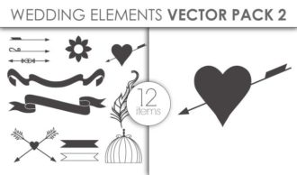 Vector Wedding Pack 2 Vector packs vector