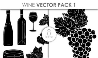 Vector Wine Pack 1 Vector packs vector
