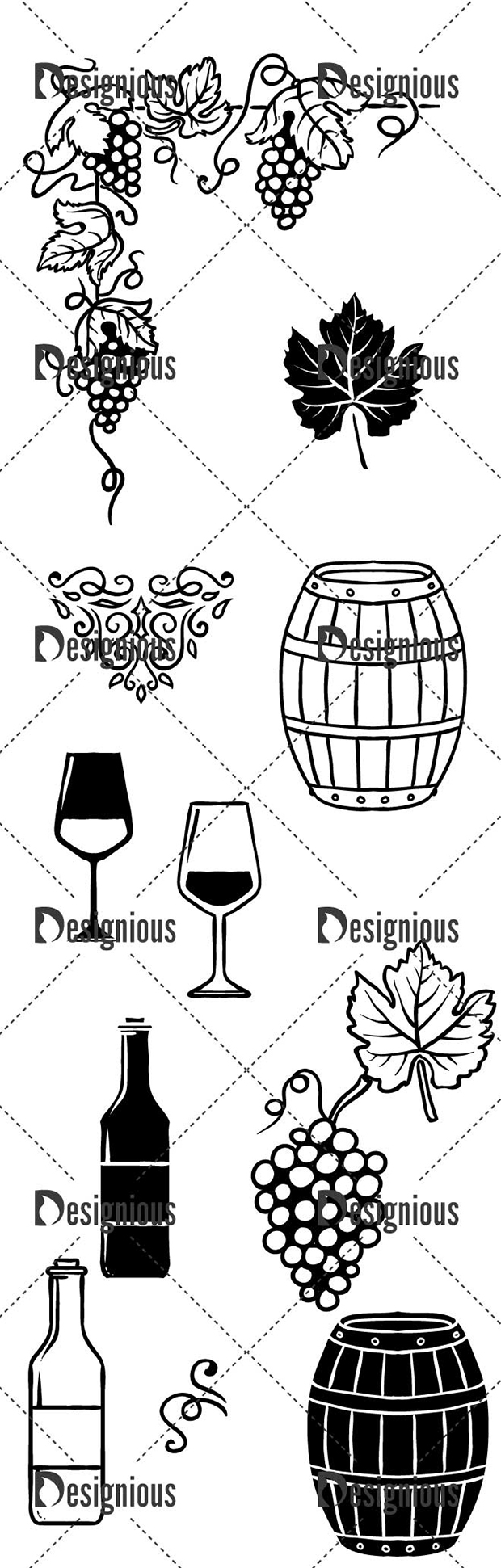 Vector Winery Pack 2 designious vector winery pack 2 large preview