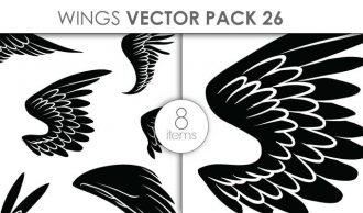 Vector Wings Pack 1 Vector packs vector