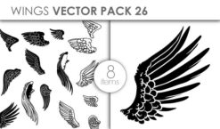 Vector Wings Pack 26 Vector packs vector