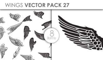 Vector Wings Pack 27 Vector packs vector