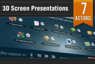 3D-Screen-Presentation-Ps-Addons Add-ons addon|close-up|Effect|photo|presentation|screen