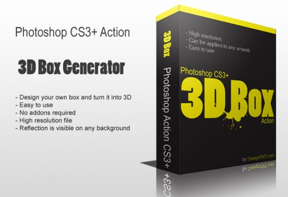 Ps-3D-box-action Add-ons 3d-box|action|box|generator