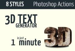 Cinematic-3d-actions—Photoshop-text-effect Addons 3d|3d-action|3d-creator|3d-generator|3d-maker|3d-text-action|cinematic-effects|image-texture|text-photoshop|texture