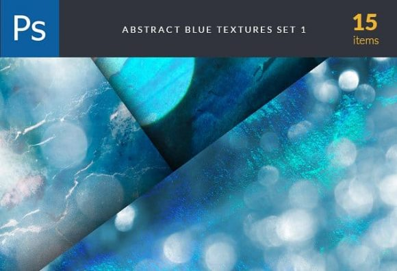 Abstract Blue Set 1 Textures abstract blue texture set photoshop