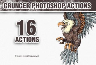 Grunger-Photoshop-Action Add-ons action|dirt|dirty|grunge|grunger