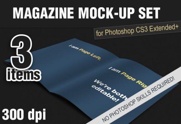 Photo-realistic-Magazine-PS-Mock-ups designtnt addon magazine mockup template small
