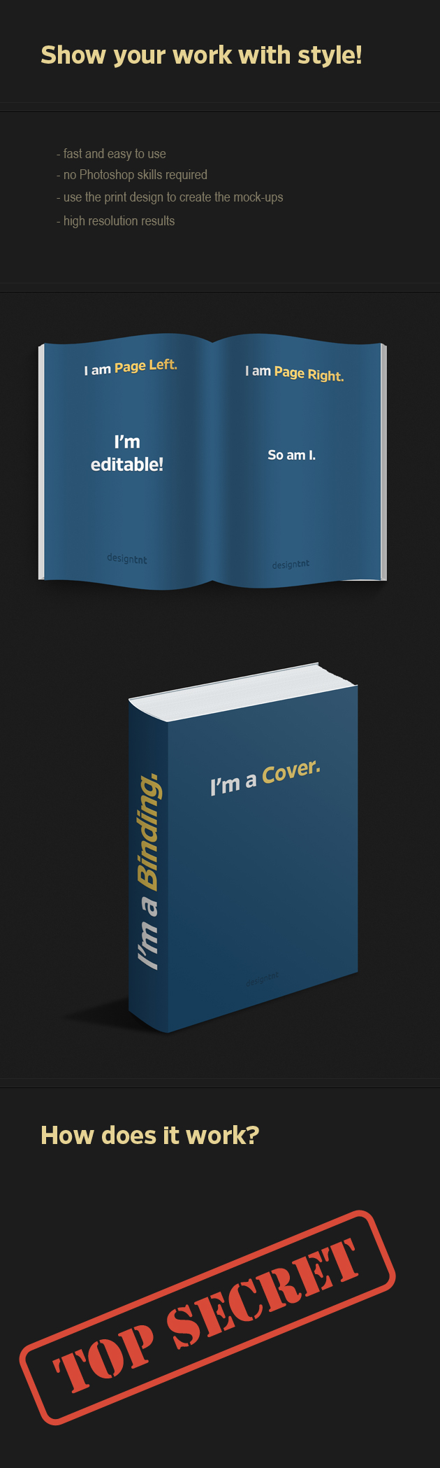 Photo-realistic-Book-PS-Mock-ups designtnt addons book mockup large