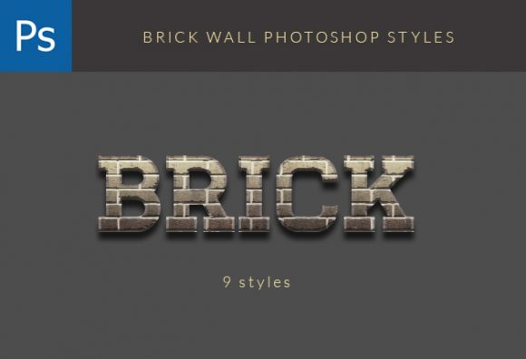 Brick-Photoshop-Styles designtnt addons brick wall styles small