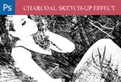 Charcoal-Scratch-PS-Photo-Effects Addons action|charcoal|Effect|pencil|scratch