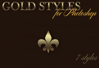 Gold-Photoshop-Styles Add-ons action|Effect|gold|style|text