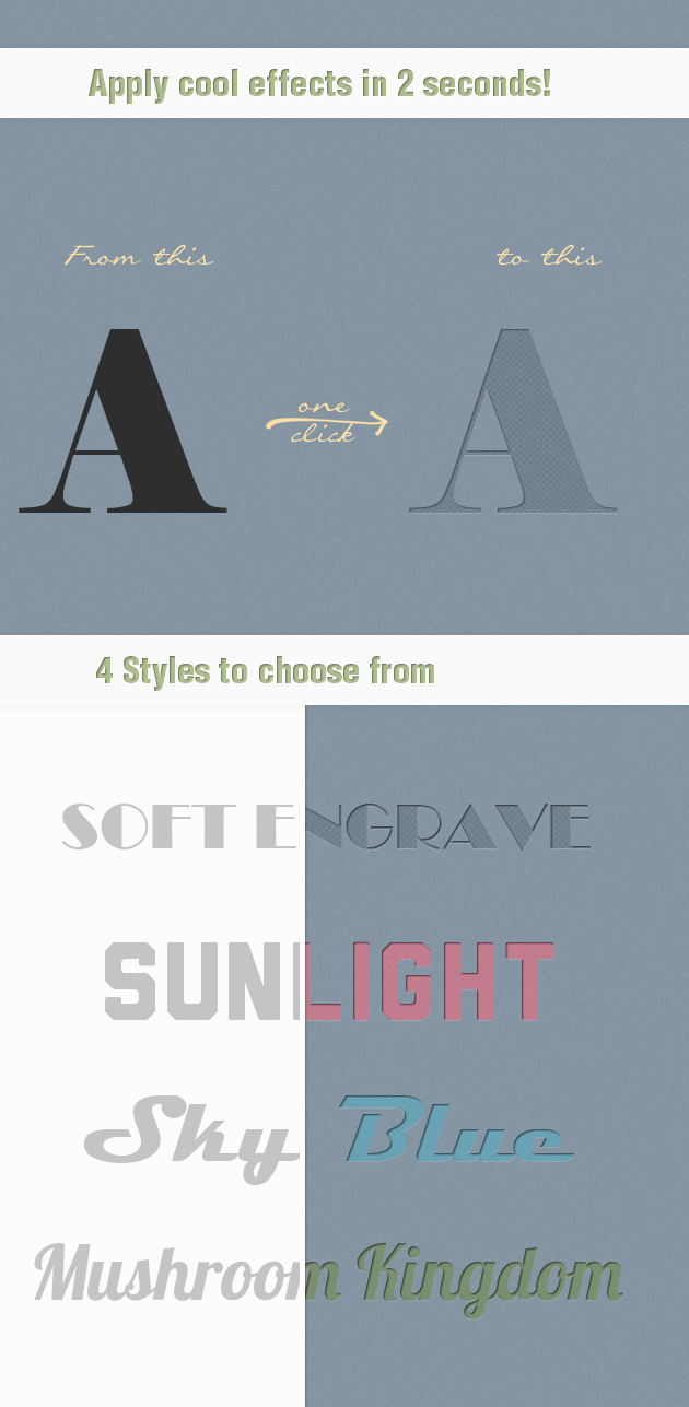 Soft-Carbon-Ps-Styles designtnt addons soft engrave effect large