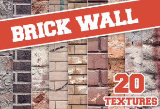 Full library Pricing designtnt brick wall textures set small