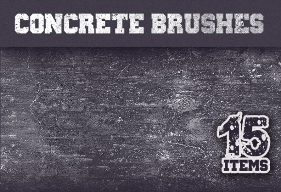Concrete-Ps-Brushes-Set-1 Photoshop Brushes brush|cement|concrete|Editor's-Picks-–-Textures|grunge