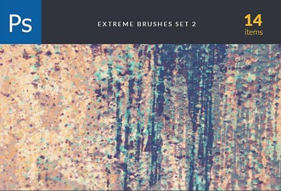 Extreme Brush Set 2 Photoshop Brushes [tag]