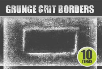 Grunge-Grit-Border-PS-Brushes-Set-1 Photoshop Brushes border|brush|frame|grit|grunge