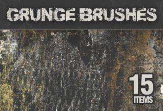 Grunge-PS-Brushes-Set-2 Photoshop Brushes brush|concrete|dirt|grunge|texture