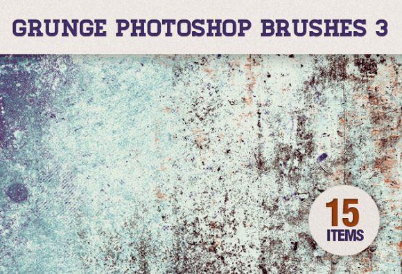 Grunge-Photoshop-Brushes-Set-3 Photoshop Brushes brush|dirt|Editor's-Picks-–-Brushes|grunge|subtle