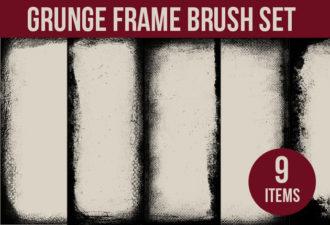 Grunge-Frames-Photoshop-Brushes Photoshop Brushes brush|Editor's-Picks-–-Brushes|frame|grunge|old|vintage